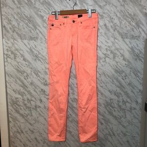 Ag Adriano Goldschmied The Stilt Pants Pink 24R